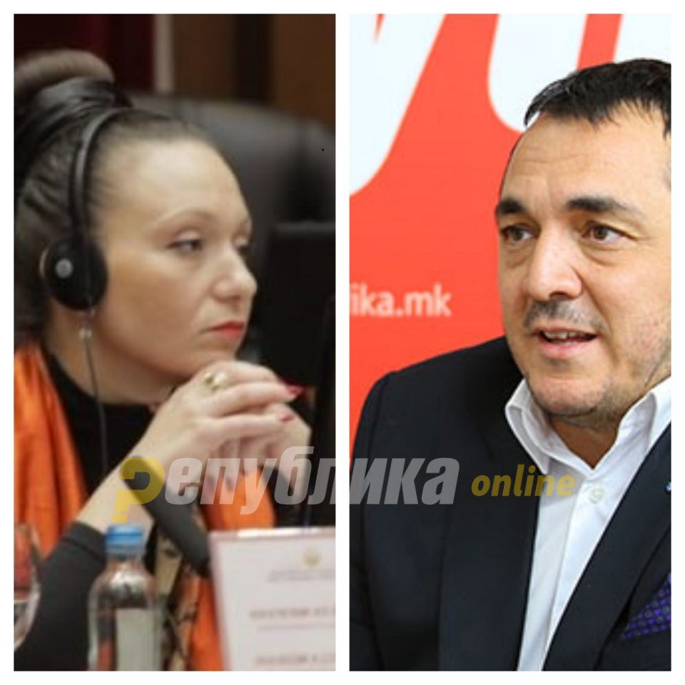 "Another insult aimed at Rasela Mizrahi: ""For a Jew, she acts stupidly"", SDSM activist says"