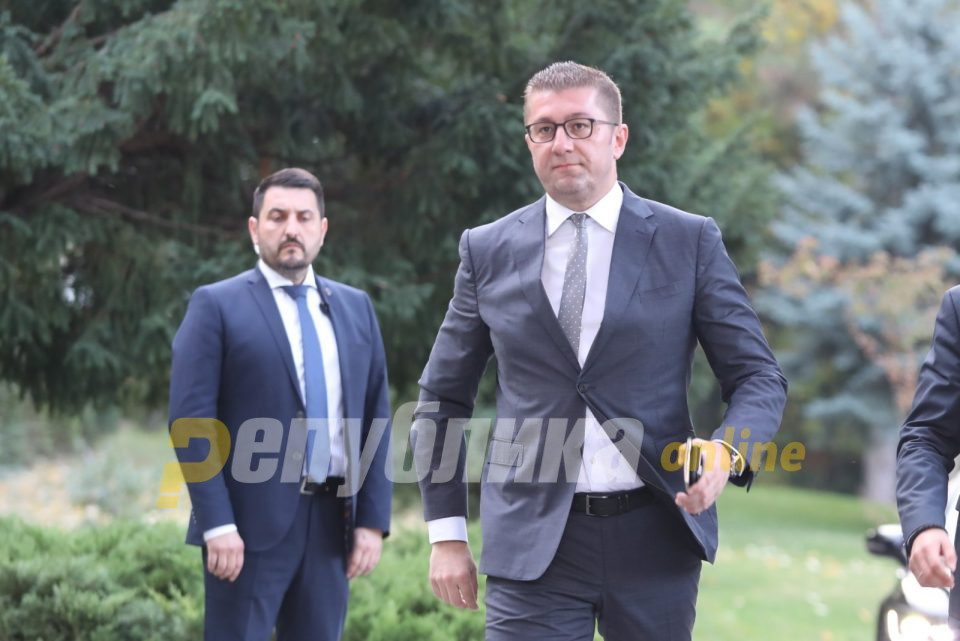 Mickoski: If Parliament is not dissolved by Sunday, we'll be in a deep political crisis