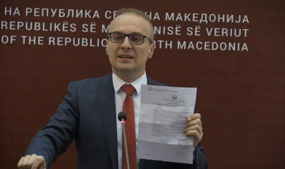 Milososki: Zaev was recorded in the Government, while meeting with a person linked to the Racket scandal