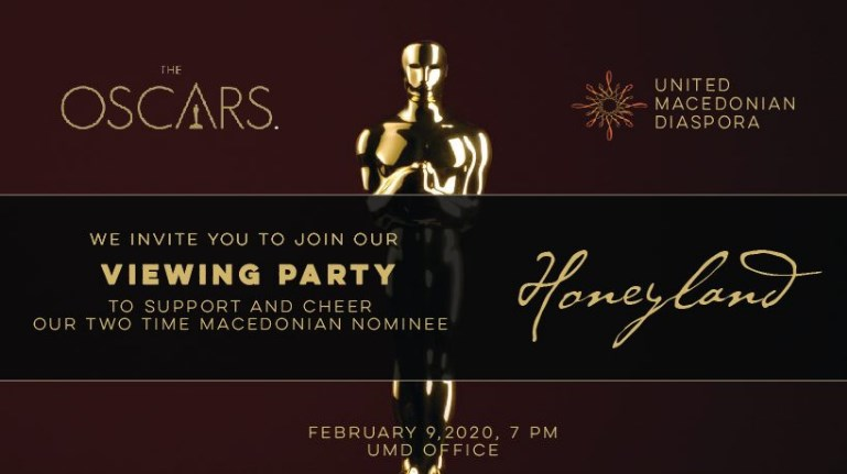 "Macedonians in US to cheer on Oscars Nominee ""Honeyland"" on Sunday"