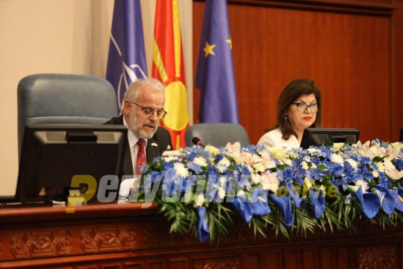 VMRO-DPMNE demands Xhaferi to schedule session on Parliament dissolution