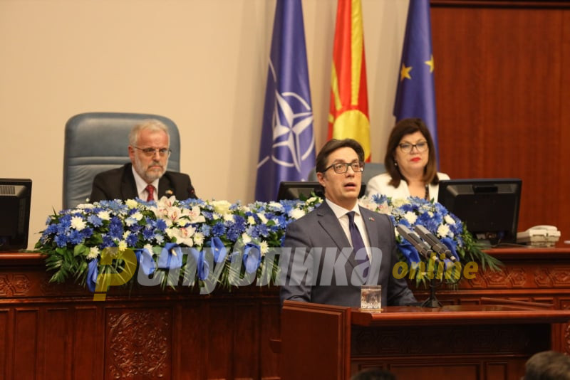 Pendarovski not happy with how the Racket prosecution presented Janeva's meeting with Zaev as a visit to his office