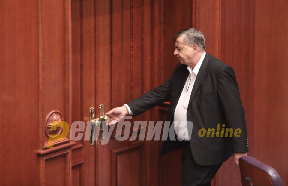 MP Minov's son employed in Parliament ahead of vote on PPO law – blackmail scenario of constitutional changes repeated