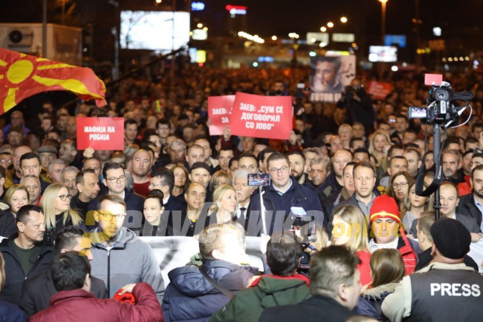 Skopje supported Hristijan Mickoski, said NO to injustice done by Zoran Zaev