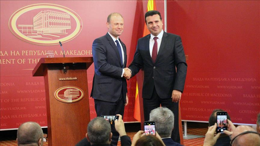 Exit: Zoran Zaev and Edi Rama are looking to give healthcare contracts to company linked with disgraced Maltese former Prime Minister Muscat