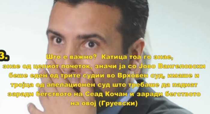 VMRO-DPMNE: Zaev was Prime Minister and Supreme Court judge at the same time