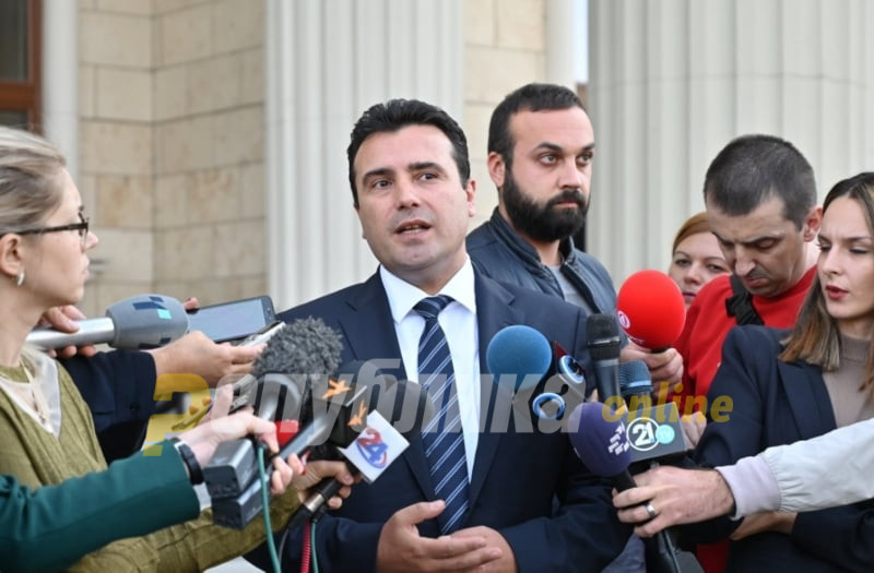Zaev: We can, but we do not want to form a new parliamentary majority