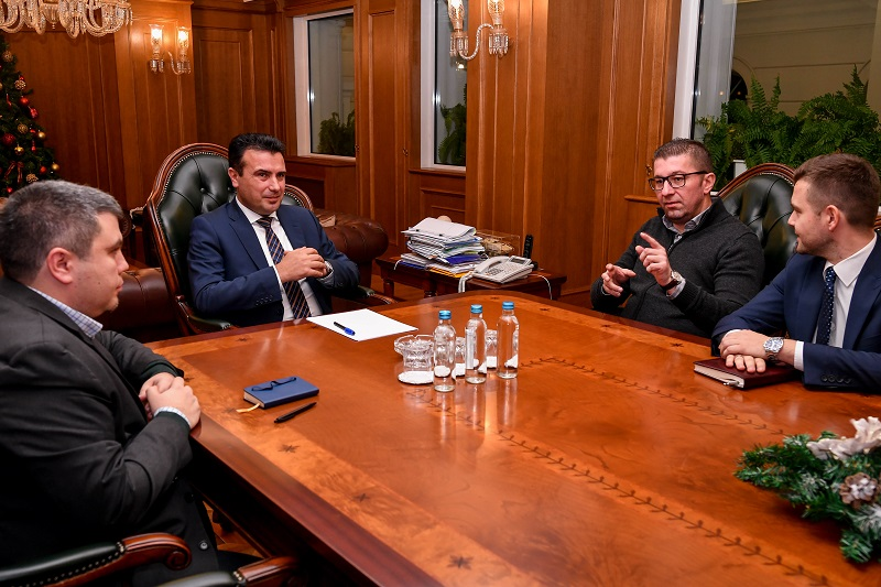 Mickoski: Zaev has one goal, and that is to pay bribes to save himself from responsibility