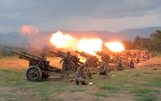 Honorary gun salute on NATO accession at 6 p.m.