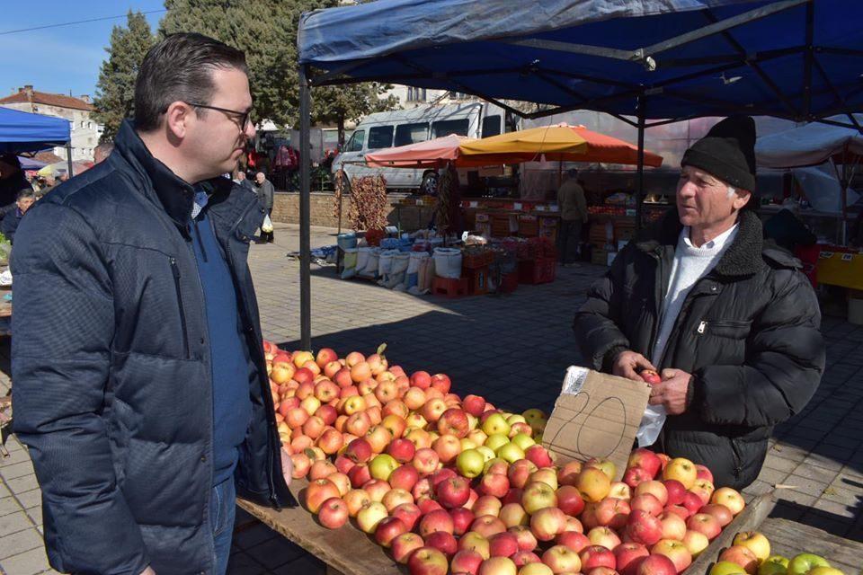 Tripunovski calls on the public to buy Macedonia – grown food