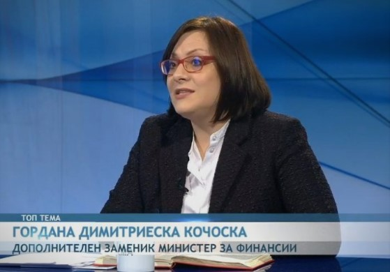 Dimitrieska: We are the only country that's even considering to reduce spending