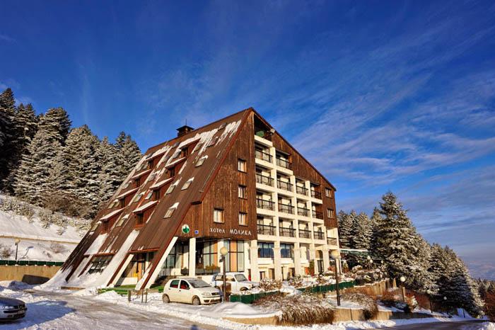 Mountainside hotels like Molika will be used to quarantine returning Macedonian citizens