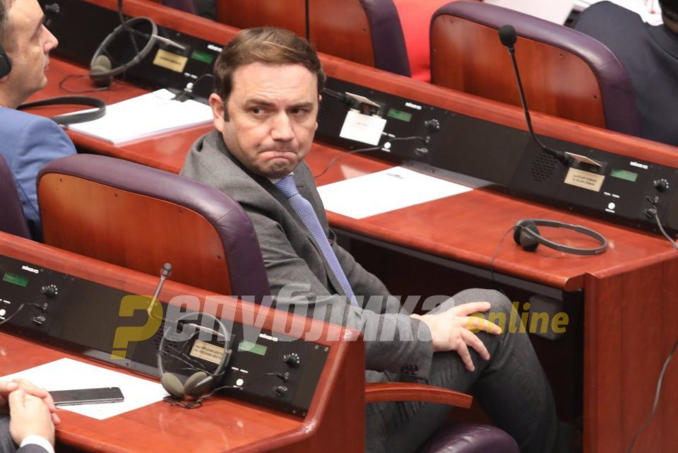 DUI's Bujar Osmani says that the SDSM-BESA coalition is an unprincipled attempt to save those two parties