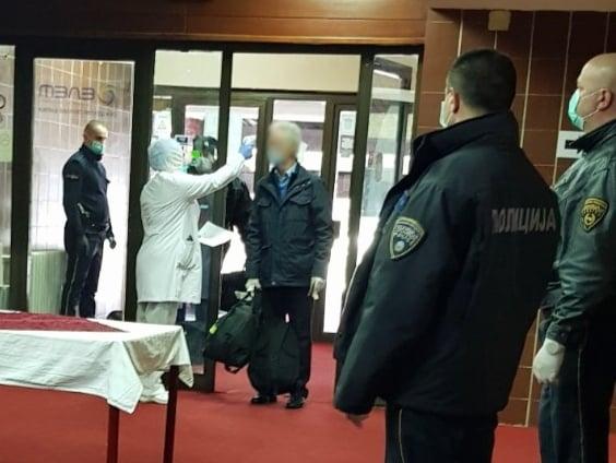 Macedonian citizens returning from Austria and Switzerland quarantined in the Popova Sapka ski resort