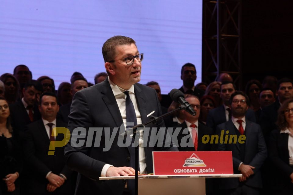 Mickoski: Less than a third of companies are expected to meet the requirements of Zaev and Spasovski