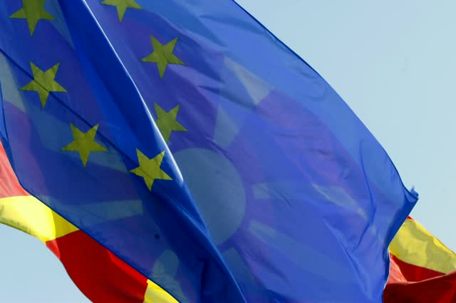 Macedonia exception: When Serbia, Montenegro and Croatia were approved to open accession talks, they were given a specific date