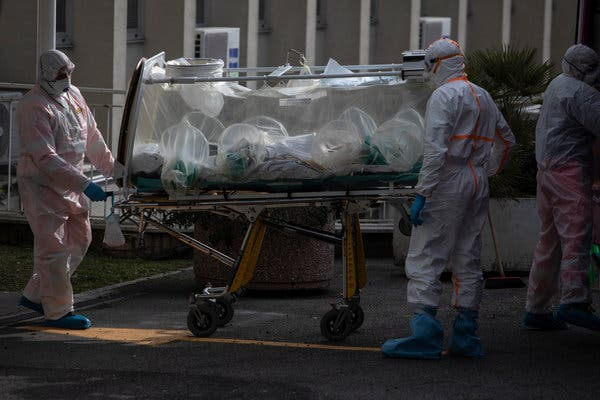 Italy coronavirus deaths surge by 793 in a day, lifting total death toll to 4,825