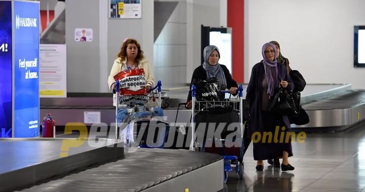 Skopje airport closes at midnight