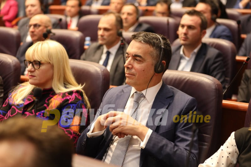 Dimitrov contradicts Osmani's announcement that the EU approved opening accession talks with Macedonia