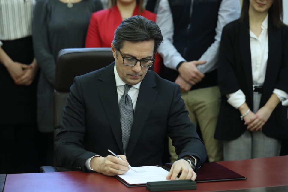 Pendarovski expected to address the public after calls to declare a state of emergency