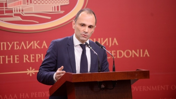 Healthcare Minister Filipce says that his wife's family owns only half of the lucrative real-estate section on Mt. Vodno