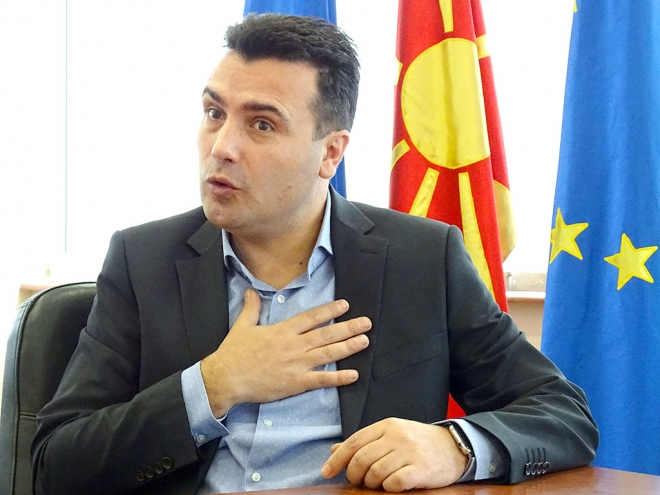 Zaev stands by his proposal to cut public sector salaries