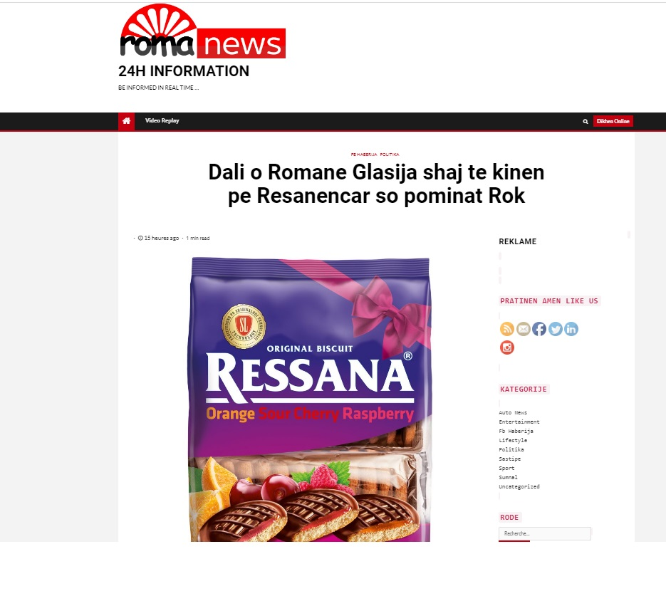 SDSM party official accused of distributing out of date food to poor Roma families near Skopje