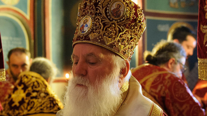 Bishop Timotej says that the church will be hit hard by the coronavirus quarantine over Easter