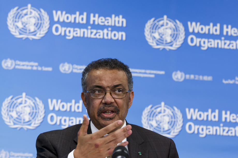 WHO chief says worst on coronavirus pandemic yet to come