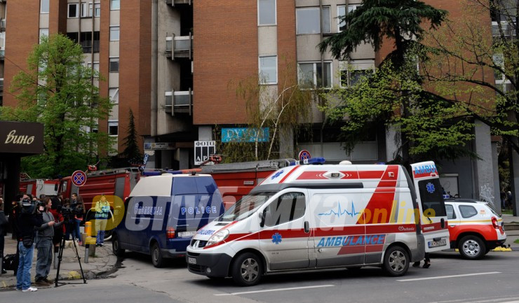 Three men found dead in various locations in Skopje, no initial connection to the coronavirus epidemic is suspected