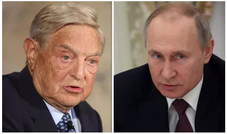 Putin lays groundwork for the arrest of George Soros