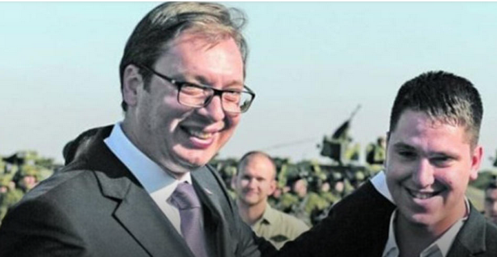 Vucic's son hospitalized after contracting coronavirus
