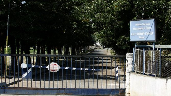 Medical teams sent to the Sutka prison after a prisoner died of the coronavirus