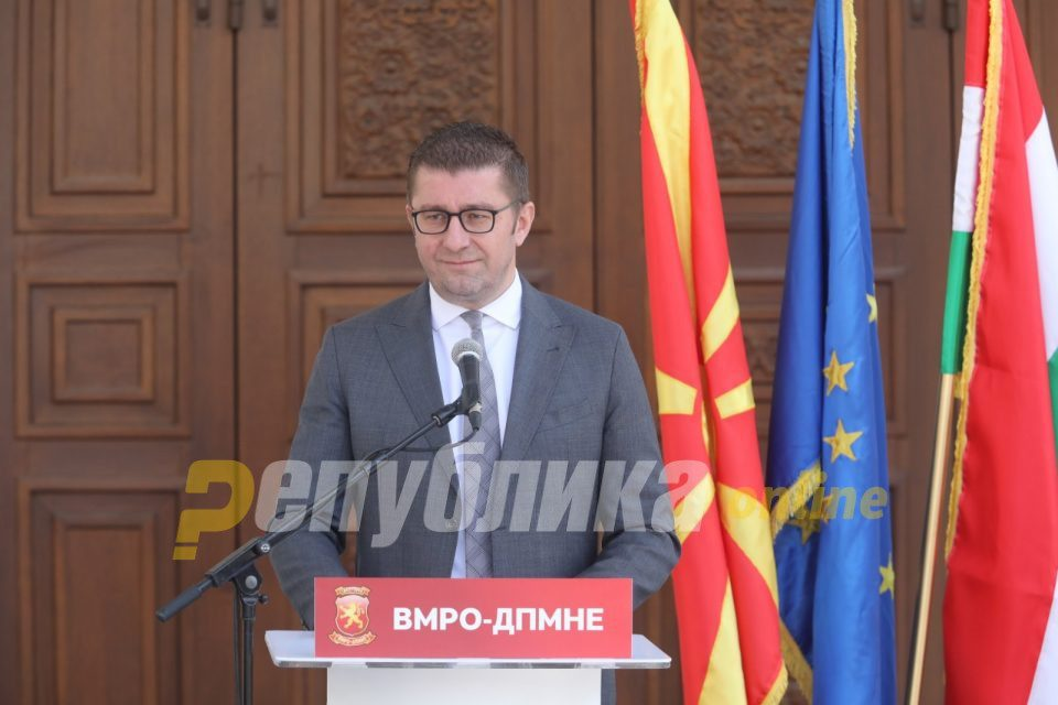 Mickoski: Government spent people's money to bribe voters for the elections that were to take place on April 12
