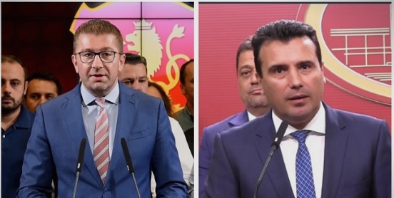 Mickoski and Zaev will have to self-isolate after they were both interviewed by a journalist who is Covid-19 positive