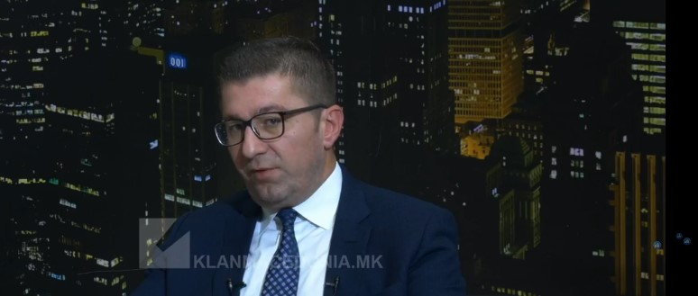 Mickoski: Government didn't bring anything for the people, brags about NATO, while the country is declared to have hybrid regime, sinking into corruption