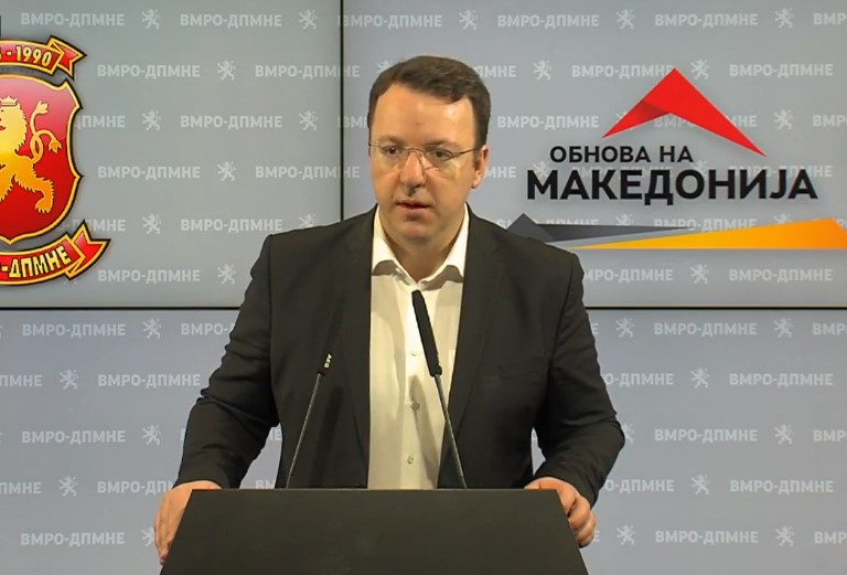 Nikoloski: In conditions when there are 115 new cases in three days, it is irresponsible to talk about elections