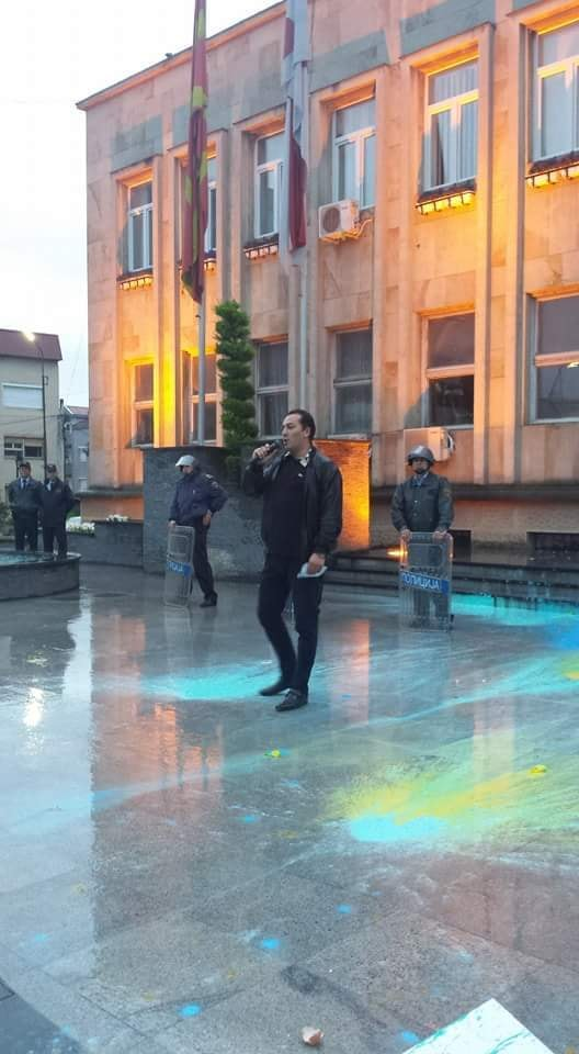 Former SDSM protest activist sentenced for speaking out against abuse by officials of his old party