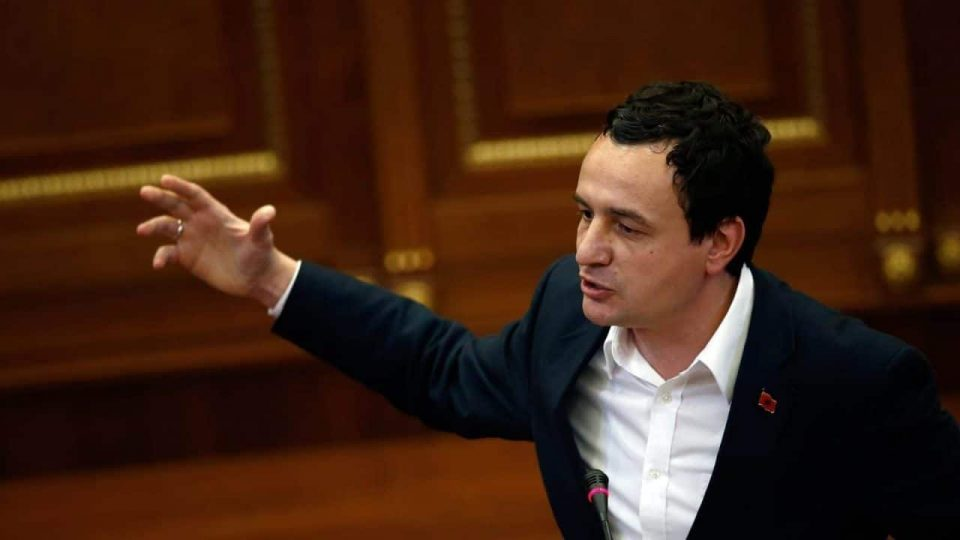 Albin Kurti announced on Facebook that elections in Macedonia will take place in July