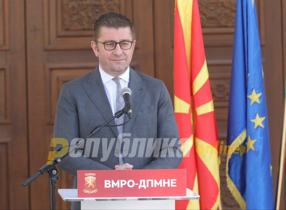 Mickoski: The state collected 55 million euros less from the economy, businesses are left in the lurch