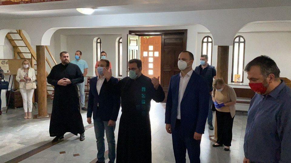 VMRO DPMNE's Misajlovski launches election campaign in Gjorce Petrov