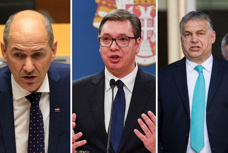 V4: Hungary, Slovenia and Serbia hold a live triple summit