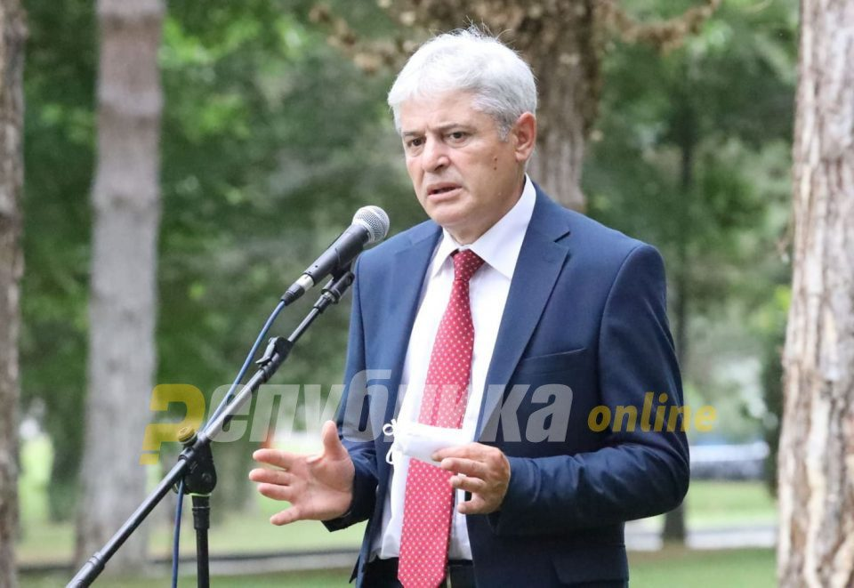 "Ahmeti calls on all Albanians to unite over his proposal for Prime Minister ""like they were united during the 2001 war"""
