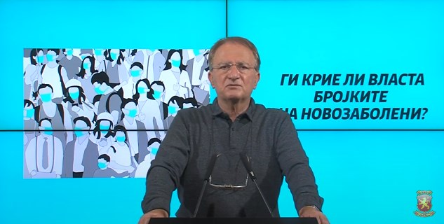 Dr. Cibisev: It will be no surprise if the authorities are hiding the number of new infections