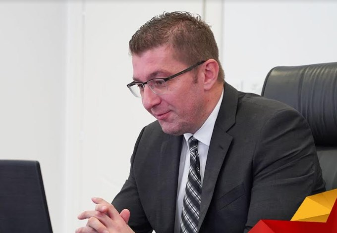 Mickoski: It is now crystal clear that the government and the parapolice forces controlled personally by Zoran Zaev are following me