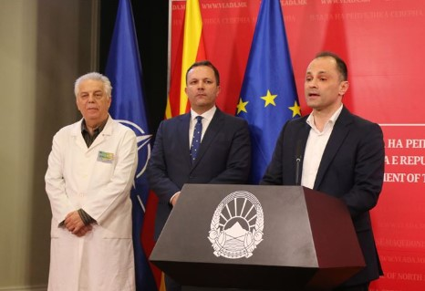 Filipce and Karadzovski endangered the whole of Macedonia with the weekend lockdown order