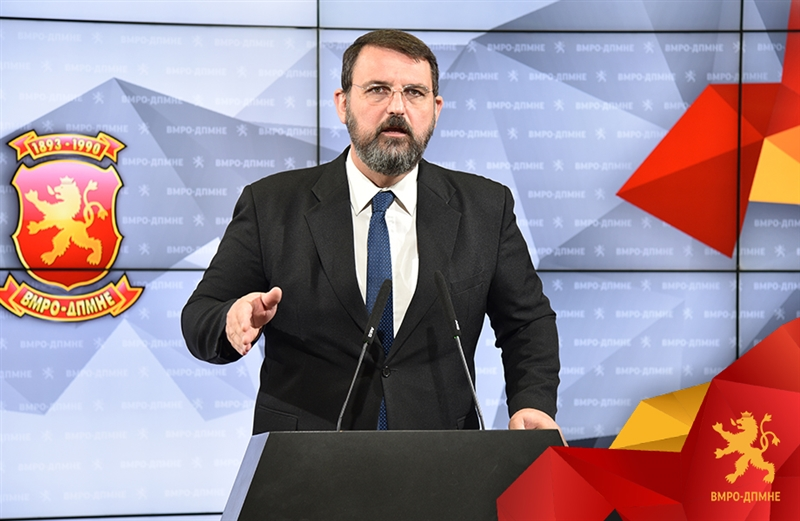 VMRO reports a major tax fraud operation involving a businessmen linked to the Zaev family