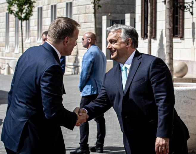 Hungary's PM Orbán meets Slovakia's Parliament Speaker Kollár in Budapest