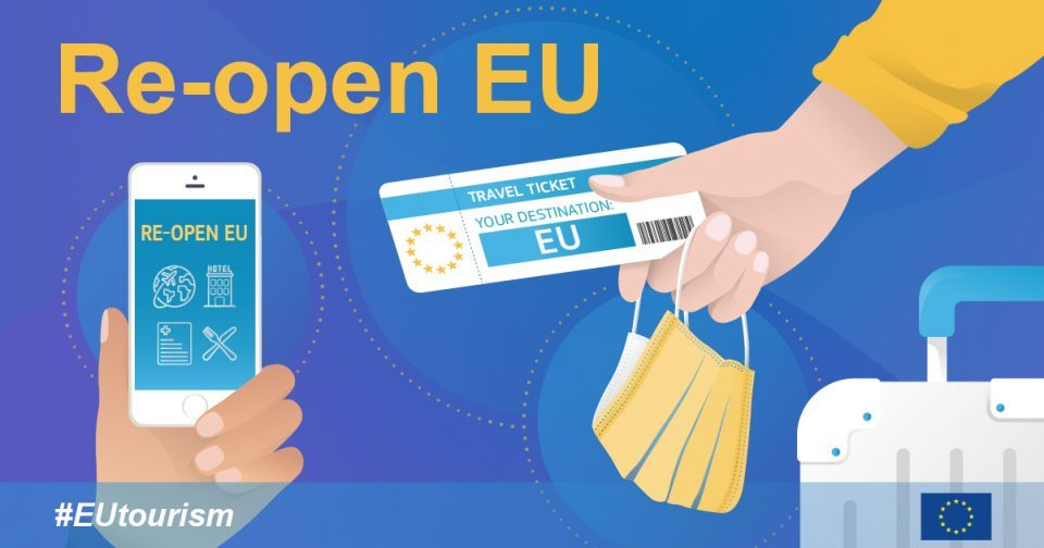 Re-open EU: New app launched to help tourists navigate safe travel across Europe