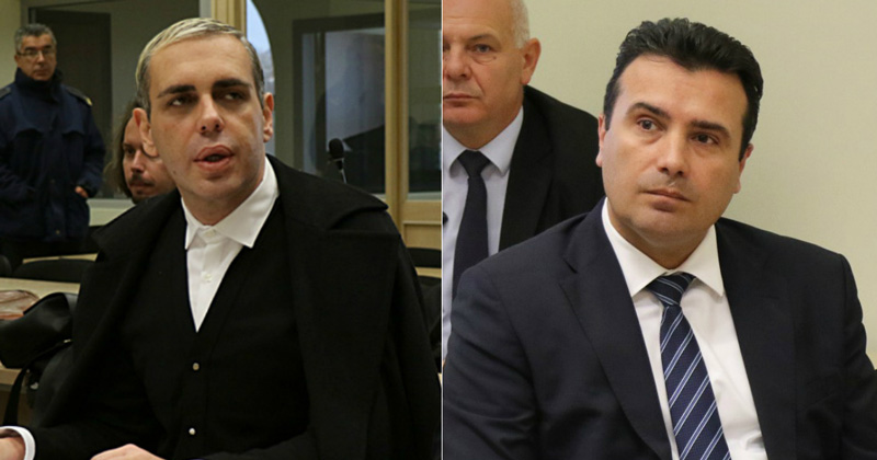 Zaev asked how Janeva could open a case against Kamcev, who had three MPs who would bring him votes for the referendum